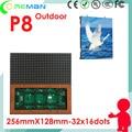 Низкая цена открытый алюминиевая рама шкафа p8 светодиодный модуль rgb smd 32*32 16*32/открытый тонкий led-телевизор стена p6 p8 p10 p5