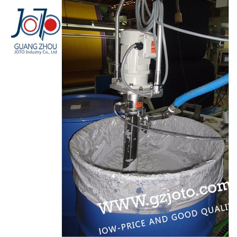 High viscosity 10000CPS Electric Screw Slurry Pump Glue pump Silicone oil barrel pump 220v 50hz 60l min 316 stainless steel high viscosity oil rotary vertical screw pump