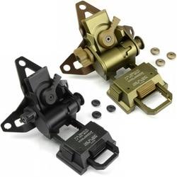 CQC Alluminio L4G30 NVG Mount Airsoft Tactical Casco Sindone Per La Visione Notturna Occhiali di Protezione AN/PVS-7 14 15 18 21
