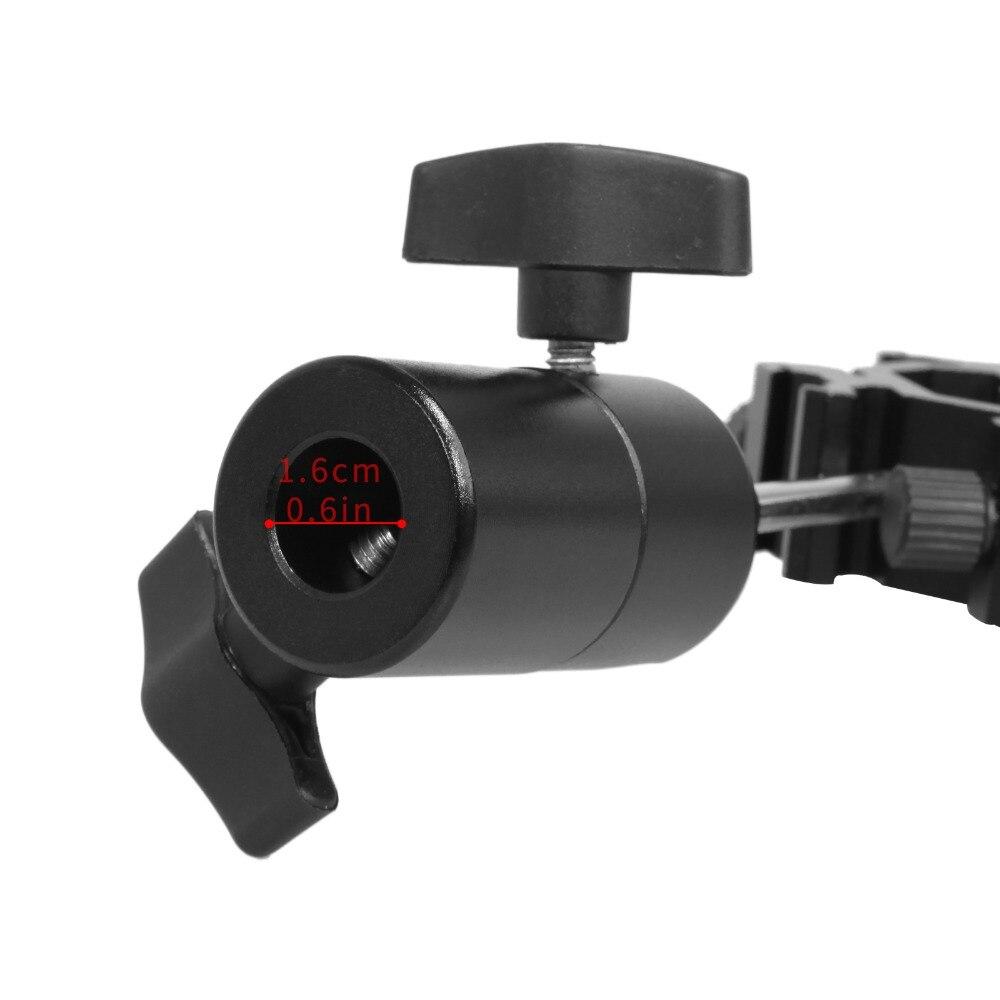 Swivel Four Quadruple Flash Light Stand Umbrella Holder Bracket Hot Shoe Mount Adapter