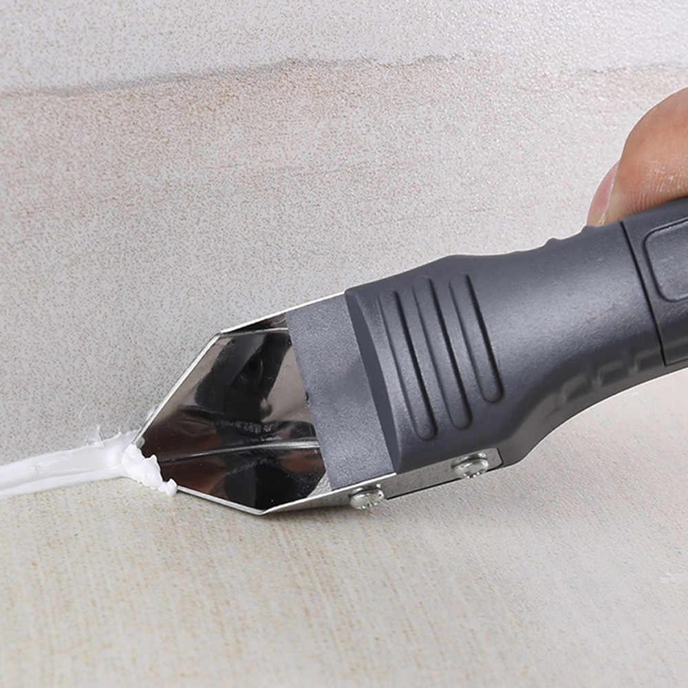 Горячая продажа оконные скребки силиконовый герметик Рассекатель шпатель металлический скребок для удаления цемента инструмент удаления ручные инструменты