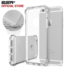 Hybrid Hard Clear Back Soft Protective Cover Case for iPhone 6 / 6s / Plus