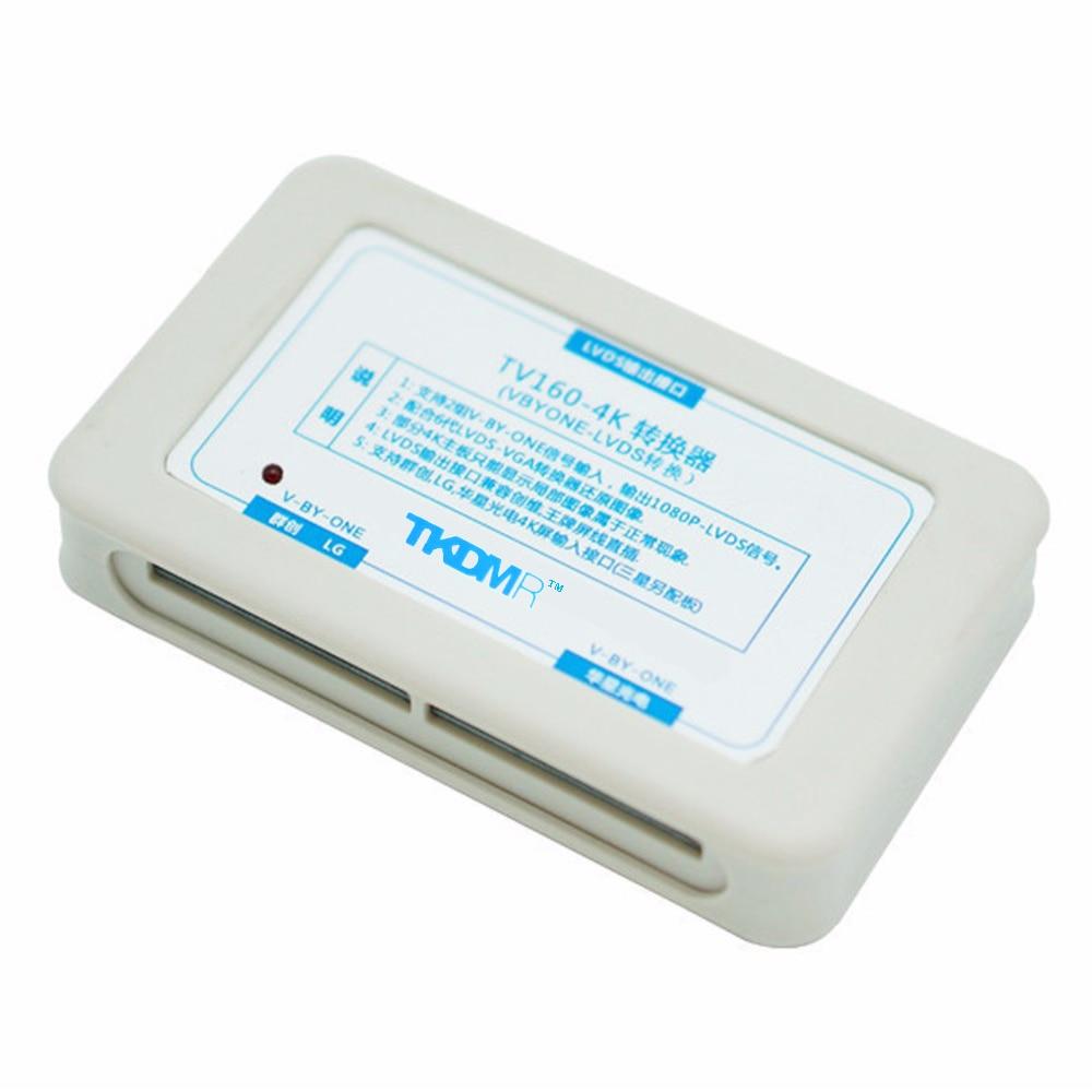 TKDMR legújabb 6-os TV160 LVDS-VGA (LED / LCD) TV alaplap tesztkészülék Full HD 4K átalakító Ingyenes szállítás