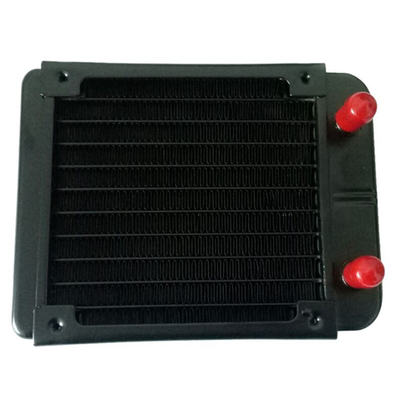 10 Tube/18 Tube Water Cooler Water Discharge Radiator Threaded Cooling Equipment For Air Conditioning For Computer CPU 12cm Fan computer cooler radiator with heatsink heatpipe cooling fan for hd6970 hd6950 grahics card vga cooler