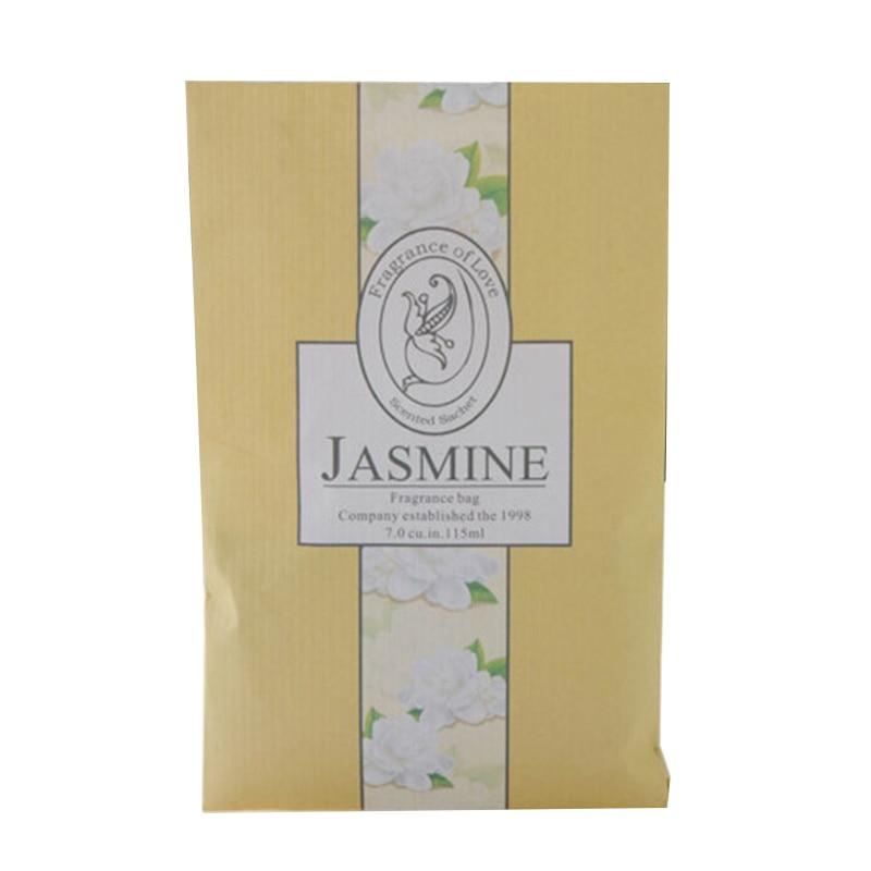 Подвесное ароматное саше Ароматерапия сумка анти-вредитель и анти-плесень для гардероба шкаф автомобильный аромат воздуха Освежитель домашние ароматы - Цвет: Jasmine