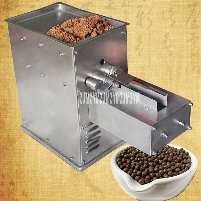 KN-60A Herbal Pill Making Machine Automatic Making Pills For Herbal Powder With 6mm Pill Press Dies 220V 50Hz/110V 60Hz 5-30KG/H herbal muscle