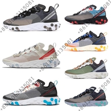 d25e6024 Épica reaccionar elemento 87 zapatos para correr para hombres las mujeres  blanco negro Neptuno verde azul