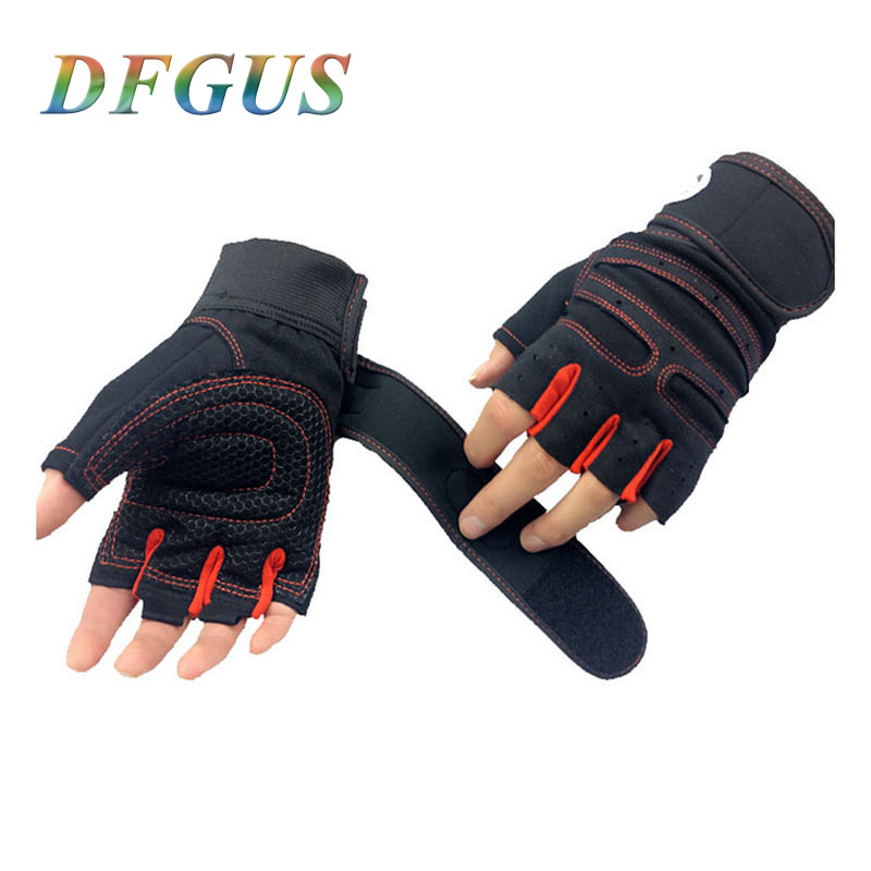 Strong Gym Gloves Power Luvas Fitness Academia Anti skid Guantes Protective Crossfit Tactical Gloves Weight Lifting