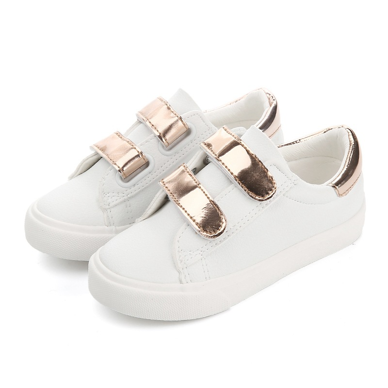 Kids Shoes for Girl 2018 Spring New Kid Shoes Chaussure White Shoes Boys Loafers Girls School Non-slip Shoes Boys Sneakers