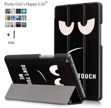 Dla Huawei MediaPad T3 10 9.6 Tablet etui na Huawei T 3 10 9.6 AGS W09 AGS L09 AGS L03 drukuj skórzane etui z klapką podpórka pokrywa + rysik