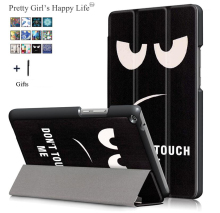 For Huawei MediaPad T3 10 9.6 Tablet Case For Huawei T 3 10 9.6 AGS W09 AGS L09 AGS L03 Print Flip Leather Stand Cover+Stylus