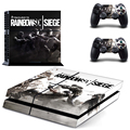 New Rainbow Six Siege PS4 skin sticker For Sony Playstation 4 Console and Cover Decals Of 2 Controller