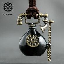 Hotsale teléfono diseño collares y colgantes, collares y accesorios para mujeres regalo para amigos, joyería hecha a mano dije