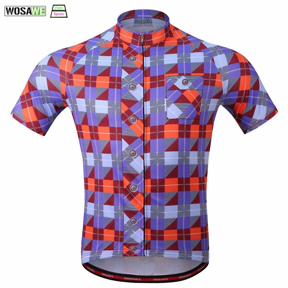 b6081c49f WOSAWE Cycling Jersey 2018 Quick Dry Breathable Mountain Bike Sleeveless Bike  Clothing Racing Downhill Bicycle Shirt Reflective