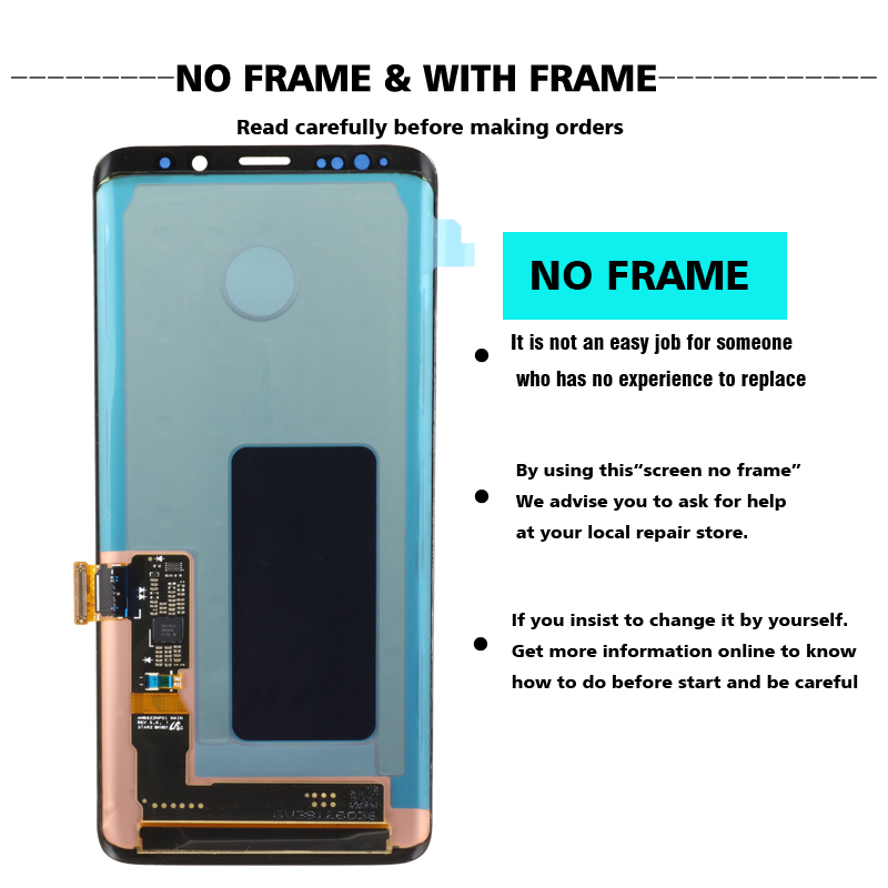 2960 1440 100 ORIGINAL LCD with Frame for SAMSUNG Galaxy S9 Plus Display S9 G965F G965 2960*1440 100% ORIGINAL LCD with Frame for SAMSUNG Galaxy S9 Plus Display S9+ G965F G965 Touch Screen Digitizer+Service Pack