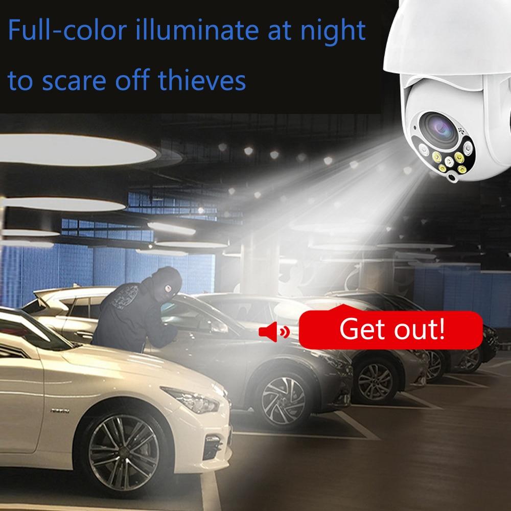 IP Camera Outdoor HD 1080P Speed Dome Wireless WI-FI CCTV Camera wifi ptz ip66 rotary Security Surveilance Camara PTZ Exterior