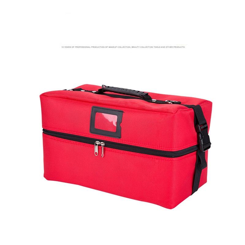 Здесь продается  OKOKC Korean Style Portable Cosmetic Box Large Capacity Women Makeup Bags Professional Cosmetics Travel Organizer Vanity Case  Камера и Сумки