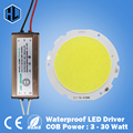 100pcs 3W 5W 7W 10W 12W 15W 20W 25W 30W COB led chip board panel for led spotlight+Waterproof AC110-240V LED power supply driver