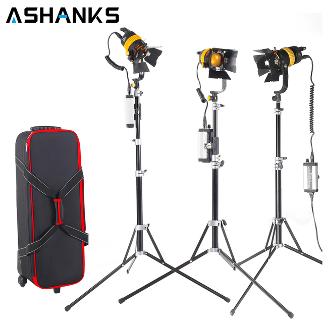 3PCS Bi-color 50W LED Spotlight Stage Lighting with Portable Light Stand u0026 High CRI  sc 1 st  AliExpress.com & 3PCS Bi color 50W LED Spotlight Stage Lighting with Portable Light ...