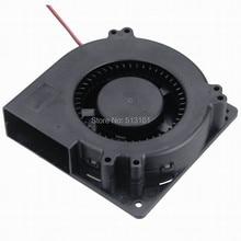 купить 10 Pieces 12032 Ball DC Cooler Blower Fan 120x120X32mm Centrifugal 24V Fans For PC Computer дешево