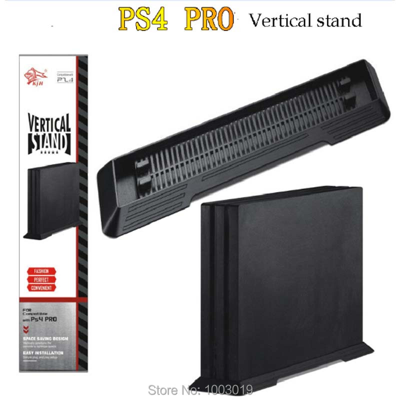 Simple Design Console Vertical Stand Mount Dock Holder Dock Mount Cradle For PS4 Pro Game Holder Accessories Black Free Shipping