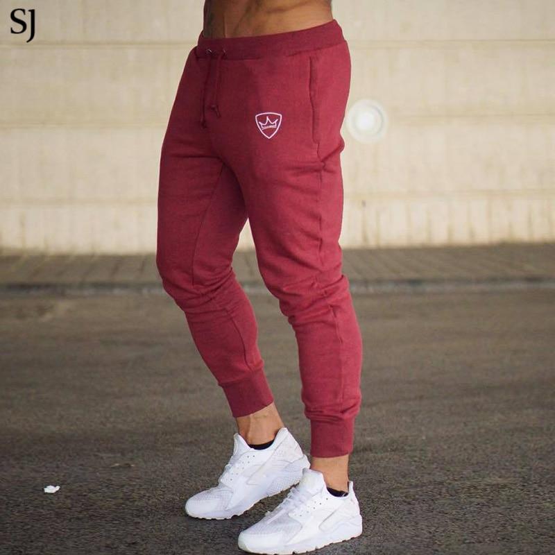 SJ 2018 Mens Pants for Winter Bodyboulding Hip Hop Clothing Street Trousers Fitness Jogger Sweatpants Casual Sweat Pants