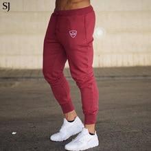 SJ 2018 Mens Pants for Winter Bodyboulding Hip Hop Clothing