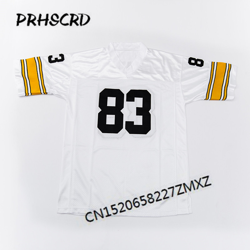 in stock 46d3c 0f55e Retro star #83 Heath Miller Embroidered Throwback Football Jersey-in  America Football Jerseys from Sports & Entertainment on Aliexpress.com |  Alibaba ...