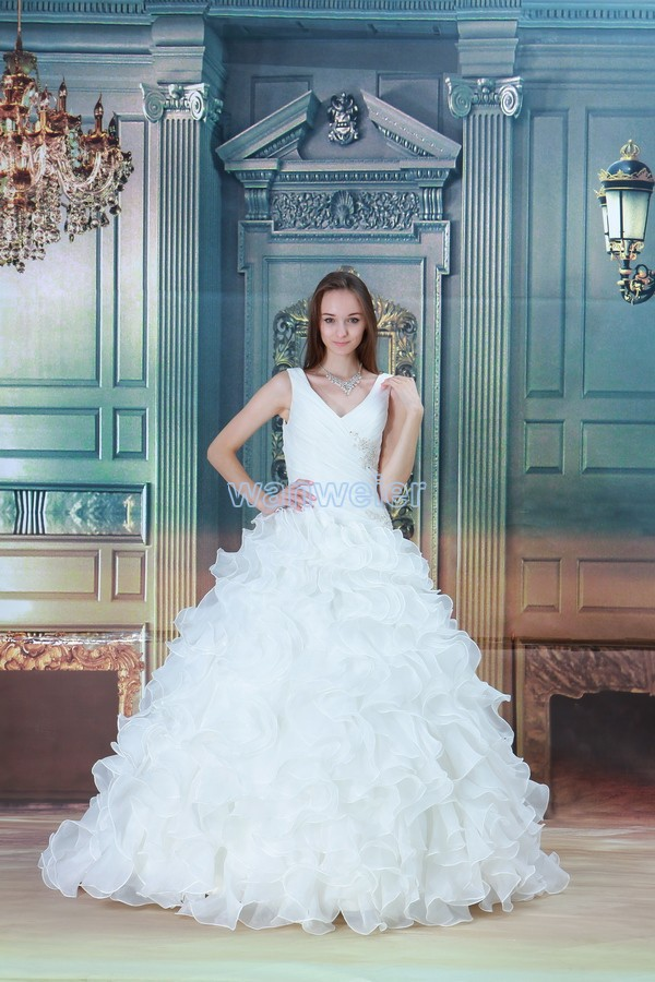 free shipping 2013 design hot sale cap sleeve ball gown appliques custom size/color bridal dress elaborate white wedding