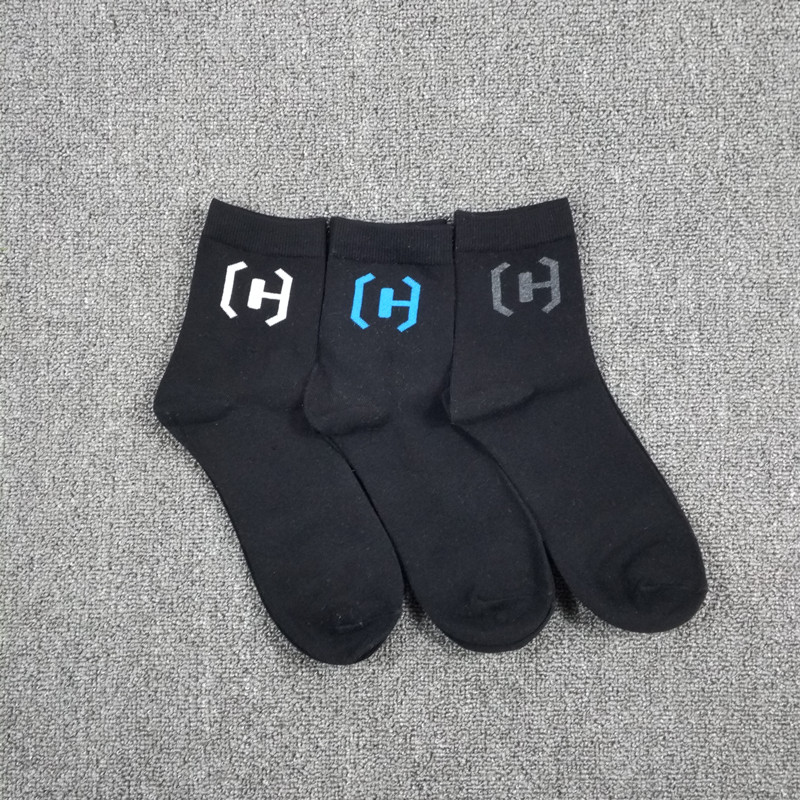 3 Pack Mens Letter C Quater Street Casual Dress Socks USA Size 6-9,10-13 Euro Size 39-42,43-46