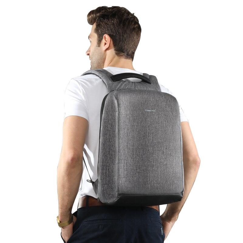 Tigernu nouveau Anti-vol USB chargeur sac à dos ordinateur portable étanche voyage sac à dos homme sac à dos décontracté pour homme - 6