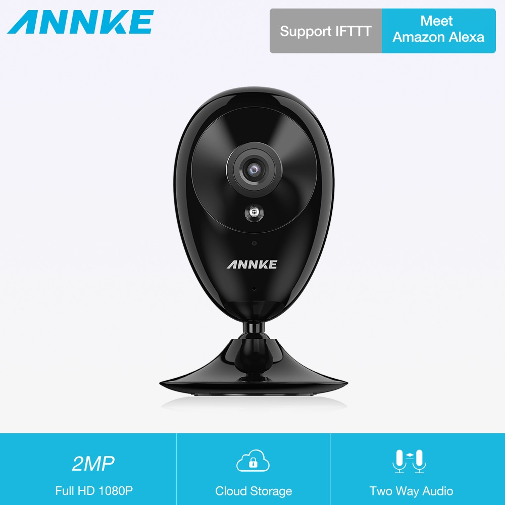 ANNKE WiFi IP Camera HD 1080P CCTV Security Camera Night Vision Infrared Two Way Audio 2MP Baby Camera Monitor Wireless Cam цена