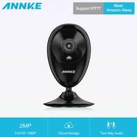 ANNKE WiFi IP Camera HD 1080P CCTV Security Camera Night Vision Infrared Two Way Audio 2MP Baby Camera Monitor Wireless Cam