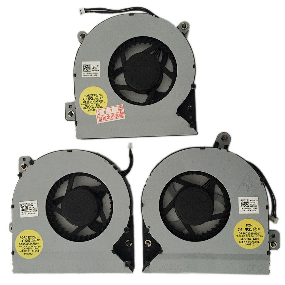 GPU Fan / CPU fan / New For M18X GPU-R GPU-L CPU Fan 0XHW5W 0PODG8 0J77H4 Brand new and original DC5V 0.5A