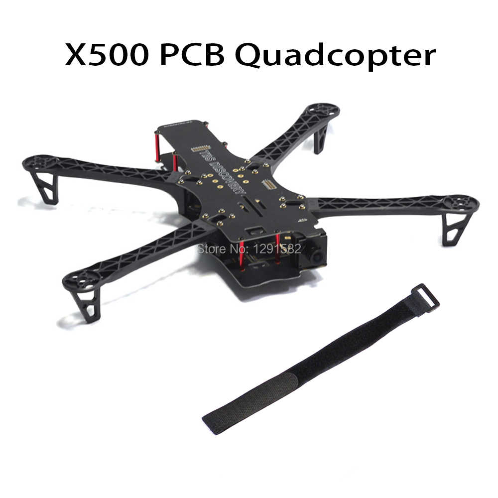 "1 set Reptiel X500 500 500mm PCB/carbon fiber Quadcopter Frame kit voor BlackSheep ""Discovery"" FPV drone Quadcopter"