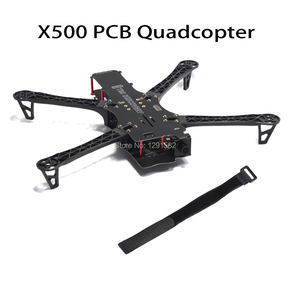 1 set Reptil X500 500 500mm PCB/carbon fiber Quadcopter Rahmen kit für TBS Team BlackSheep