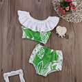 Children Summer Clothes 2016 Girl Floral Suit Beach Wear 2-6Y roupas infantis menino vetement fille