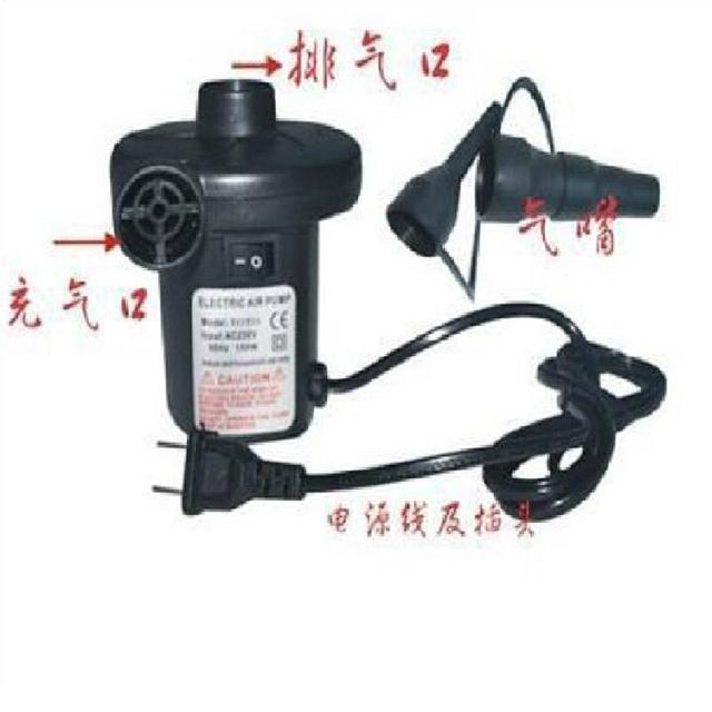 Brinquedos de Compressão A Vácuo Bomba de Ar Elétrica Inflável Desinflar Cores Aleatórias