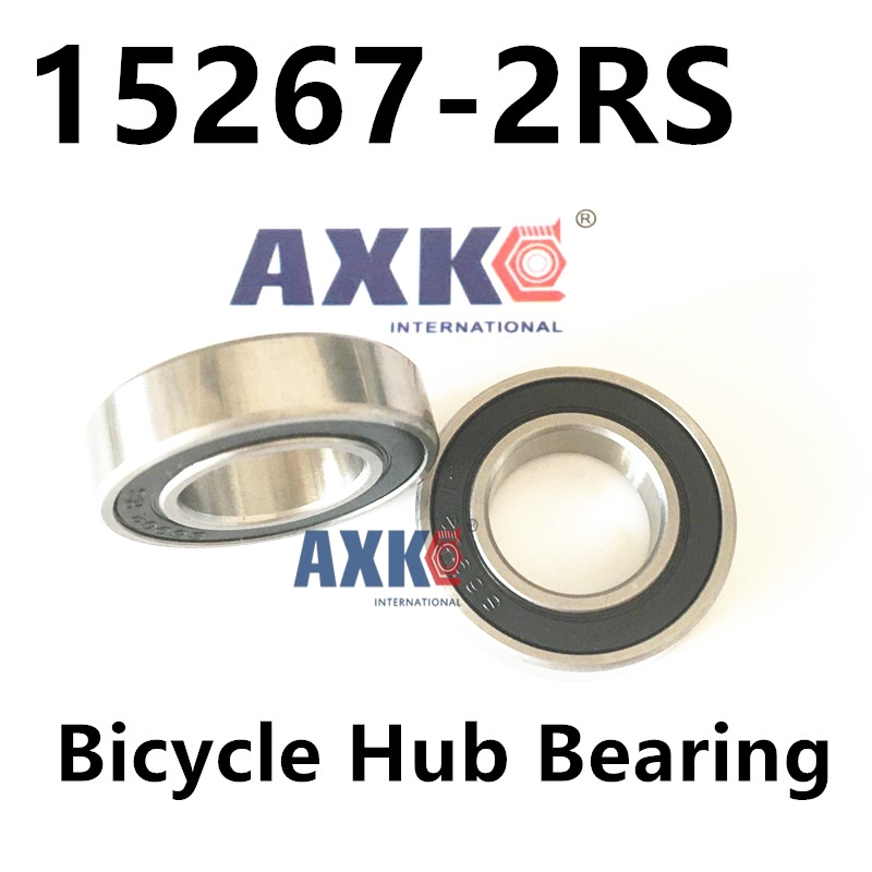 free shipping Bicycle hub bearing 15267-2RS for Chin Haur Disc/HH series hubs & A2Z XCR/XCF series hubs 15*26*7 mm mountain bike four perlin disc hubs 32 holes high quality lightweight flexible rotation bicycle hubs bzh002