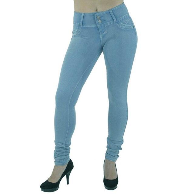 Женщины сексуальная поднимите бедра брюки середине ждать тощие женщины леггинсы лодыжки длина брюки красный черный осень зима жан леггинсы 001
