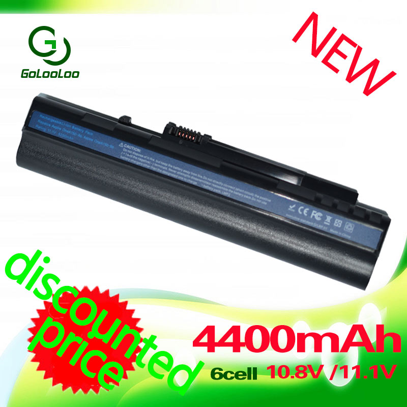 Golooloo Laptop Battery For Acer Aspire One ZG5 A110 A150 D210 D150 D250 UM08A32 UM08A31 UM08A51 UM08A52 UM08A71 UM08A72 UM08A73 клавиатура topon top 73401 для acer aspire one a110 a110x 110l 150 a150x 150l zg5 series d250 series white