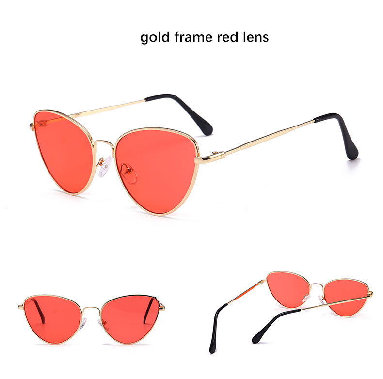 HTB1dliRSXXXXXcHaXXXq6xXFXXX5 - Red Cat Eye Transparent Lens Vintage Sunglasses Retro 70s Design