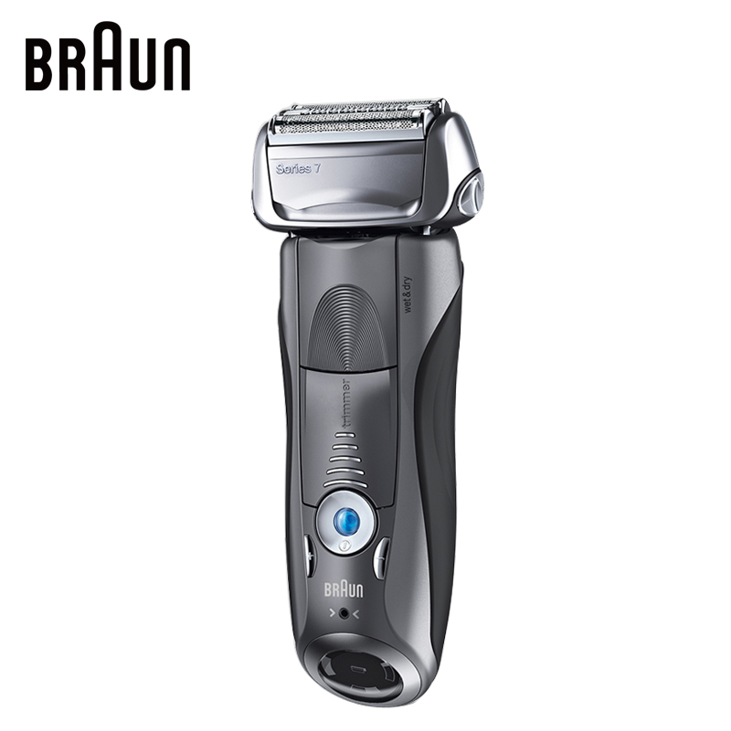 Braun Electric Shaver 7855S For Men Rechargeable Safety Razor Series 7 Reciprocating Shaving Straight Razor Shaving Machine braun series 3 electric shaver 3080s electric razor blades shaving machine rechargeable electric shaver for men washable
