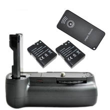 JINTU Vertical Battery Grip +2x Decode EN-EL14 +IR Remote for Nikon D3100 D3200 D3300 DSLR IR Remote Control(China)
