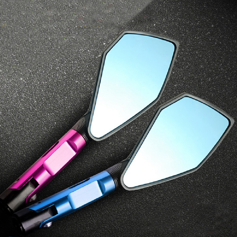 CNC Motorcycle Side Mirrors Universal modified rearview Mirrors Handlebar mirror For Honda Monkey Yamaha Kawasaki Suzuki NEW HOT motorcycle black rearview mirrors universal mirror fit for all street bikes including honda kawasaki suzuki yamaha and ducati