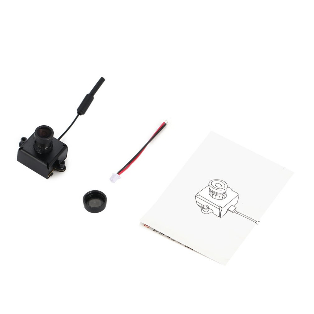 LST S1 AIO 800TVL CMOS Mini FPV Camera CAM RC Toy Parts Accessories with 5.8G 40CH 25mW VTX 3dBi Whip Antenna