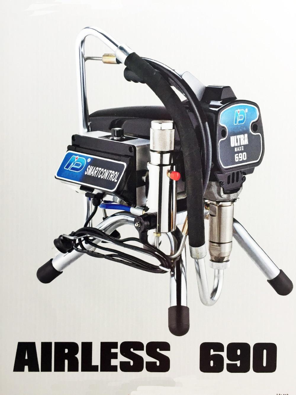 Professzionális, elektromos, légtelen festékpermetező PISTON - Szerszámkészletek - Fénykép 1
