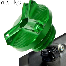 2019 New High quality CNC Aluminum For Kawasaki z900 z 900 Z900RS 2017 2018 Motorcycle Engine Magnetic Oil Drain Plug cap cover