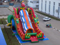 (China Guangzhou)  inflatable slides,Castle slides  Blue Dragon slide  CHA-114