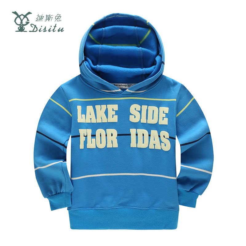 DISITU Brand 2017 New Boys Girls Sweater Clothes Children T-Shirts Spring Autumn Hoodies Sweatshirts Tops Tees 2-11 Years Old 4 12y 2017 new boys t shirt at cartoon children t shirts for boys girls tees cotton tops kids clothes and trousers